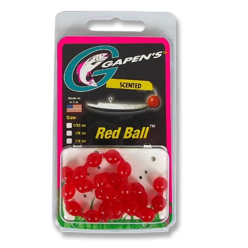 Red Ball | Bluegill Panfish Perch Trout