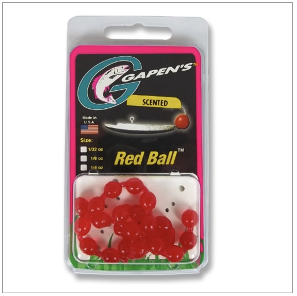 Red Ball Hook Tipping Egg - Anise Scent